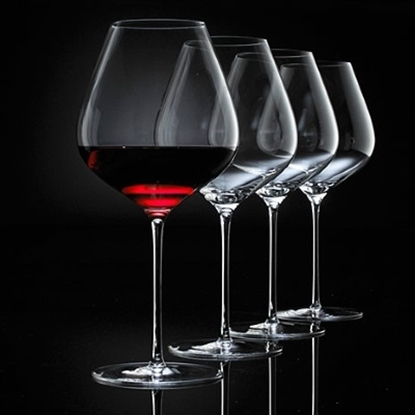 Picture of Wine Enthusiast Fusion Air Pinot Noir Wine Glasses - Set of 4