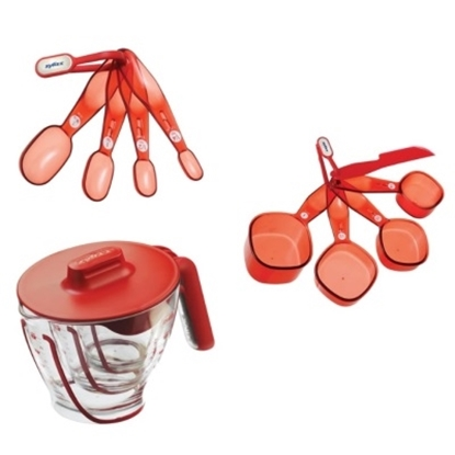 Picture of Zyliss® Measuring Cups & Spoons - Red