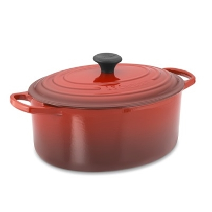 Picture of Le Creuset 6.75-Qt Enameled Cast-Iron French Oven - Cherry