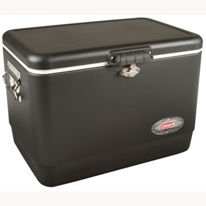 Picture of Coleman® 54-Quart Black Steel Cooler