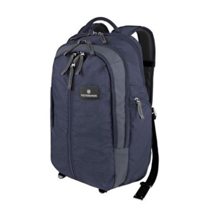 """Picture of Victorinox 17"""" Vertical-Zip Laptop Backpack - Navy"""