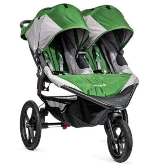 Picture of Baby Jogger® Summit™ X3 Double - Green/Gray