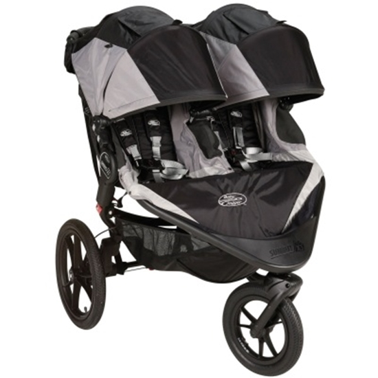 Picture of Baby Jogger® Summit™ X3 Double - Black/Gray