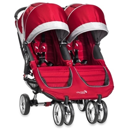 Picture of Baby Jogger® City Mini™ Double - Crimson/Gray