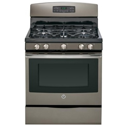 """Picture of GE® 30"""" Free-Standing Gas Range - Slate"""