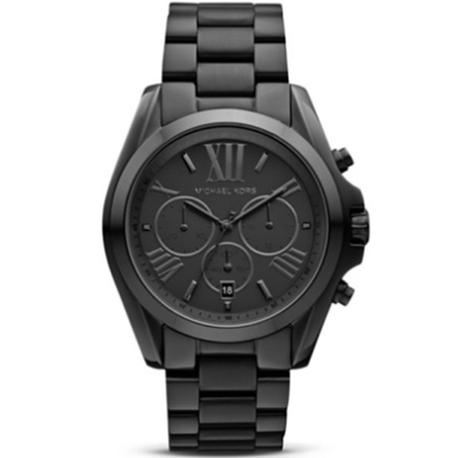 Picture of Michael Kors Ladies' Bradshaw Chronograph Watch - Black