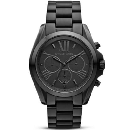 Picture of Michael Kors Ladies' Bradshaw Chronograph Watch - Black