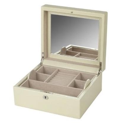 Picture of WOLF London Square Jewelry Box - Cream