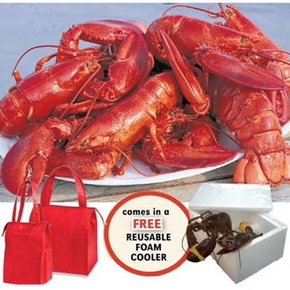 Picture of Lobster Gram Lobsterman's Bounty Tote Set
