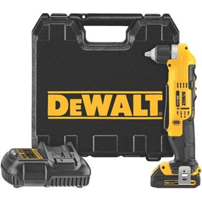 "Picture of DeWalt® 20V MAX Li-Ion 3/8"" Right Angle Drill Kit"