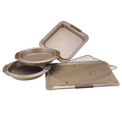 Picture of Anolon® Bronze 5-Piece Bakeware Set
