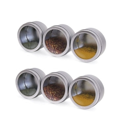 Picture of Kamenstein® Magnetic Storage Tins - Set of 9