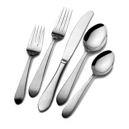 Picture of Pfalzgraff® Salisbury Satin 20-Piece Flatware Set