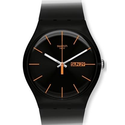 Picture of Swatch® &quote;Dark Rebel&quote; Watch