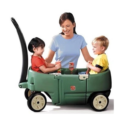 Picture of Step2® Wagon For Two - Willow Green