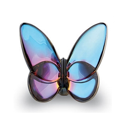 Picture of Baccarat Lucky Butterfly - Blue Scarabee