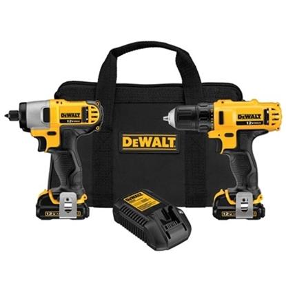 Picture of DeWalt® 12V Li-Ion Drill/Impact Driver Combo Kit