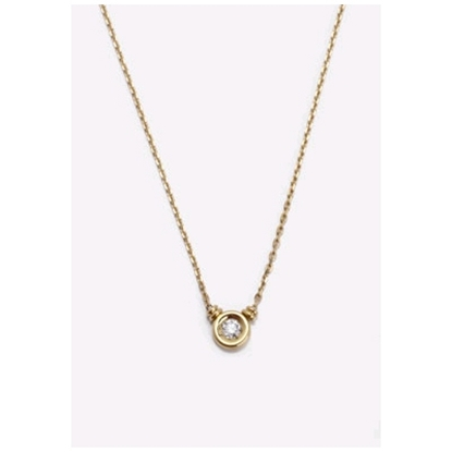 Picture of Scott Kay Bezel Set Diamond Pendant - 18KT Gold