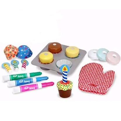 Picture of Melissa and Doug® Bake & Decorate Cupcake Set