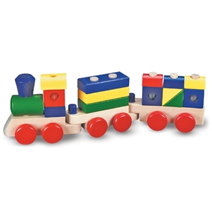 Picture of Melissa and Doug® Stacking Train