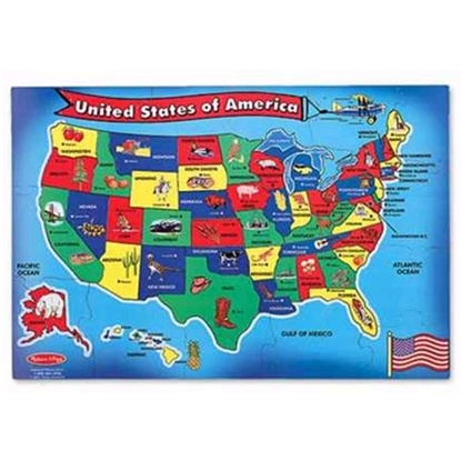 Picture of Melissa and Doug® USA Map Floor Puzzle