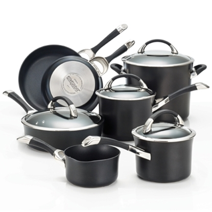 Picture of Circulon® Symmetry 11-Piece Cookware - Black