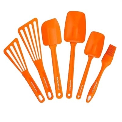 Picture of Rachael Ray 6-Piece Utensil Set - Orange