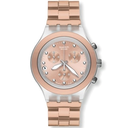 Picture of Swatch Full Blooded Unisex Watch - Caramel