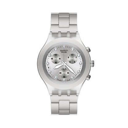 Picture of Swatch® Full Blooded Chronograph Watch -Silver