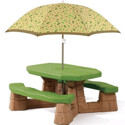 Picture of Step2® Naturally Playful Picnic Table & Umbrella