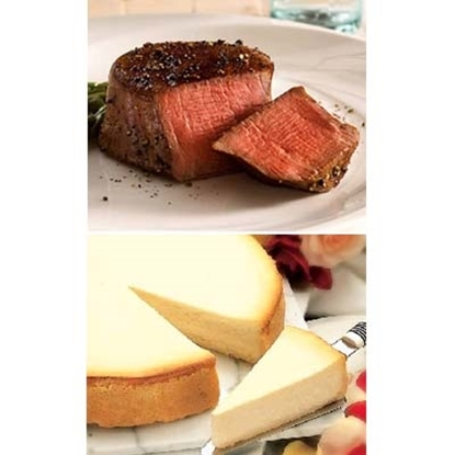 Picture of Omaha Steaks® Steaks and Cake Combo