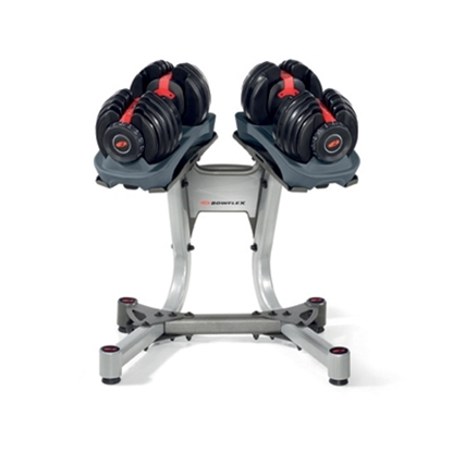 Picture of Bowflex® SelectTech Dumbbell Set and Rack