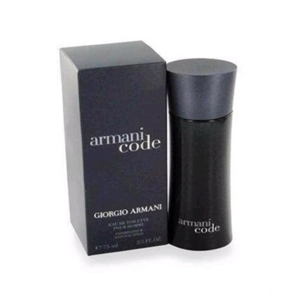 Picture of Armani Code Black Eau de Toilette for Men-1.7-oz