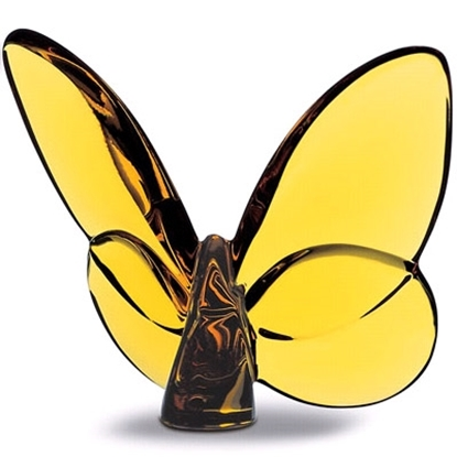 Picture of Baccarat Lucky Butterfly - Topaz