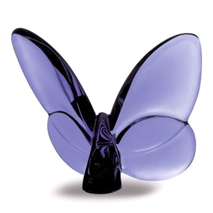 Picture of Baccarat Lucky Butterfly - Purple