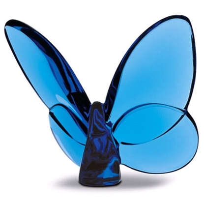 Picture of Baccarat Lucky Butterfly - Sapphire