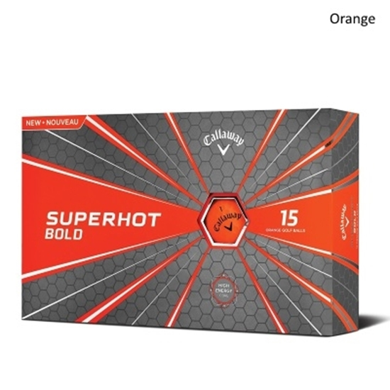 Picture of Callaway Superhot Bold Yellow Golf Balls