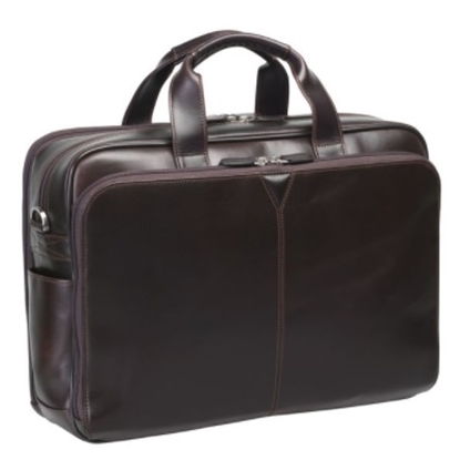 Picture of Johnston & Murphy Double Zip Briefcase