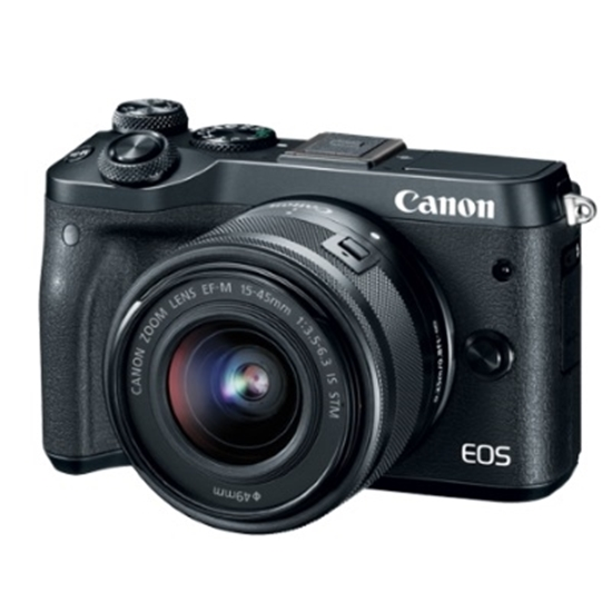 Picture of Canon 24.2MP Digital Camera with EF-M 15-45mm Lens