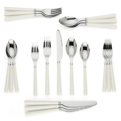 Picture of Kate Spade All in Good Taste 20-Piece Flatware Set