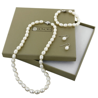 Picture of Honora 3-Piece Pearl Box Set