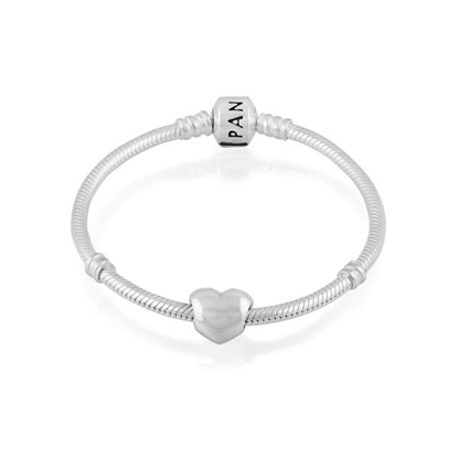 Picture of Simple Heart Bracelet - 7.5 Inch