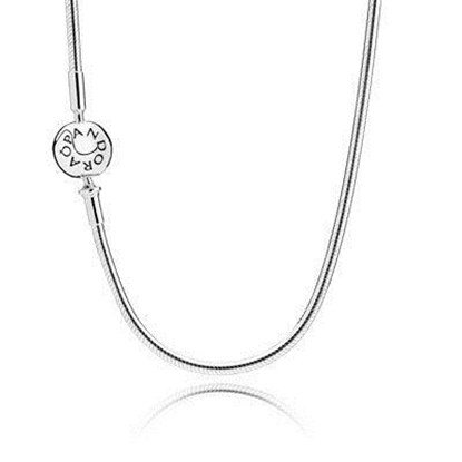Picture of Pandora® Sterling Silver Clasp Necklace