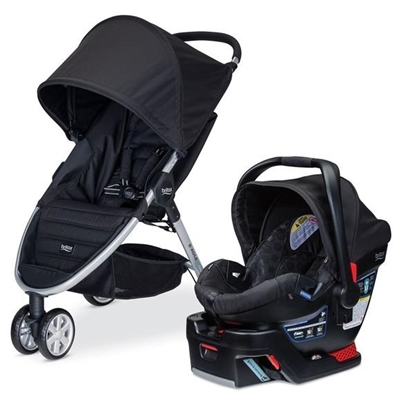 Picture of B-Agile Travel System Includes B-Safe Car Seat