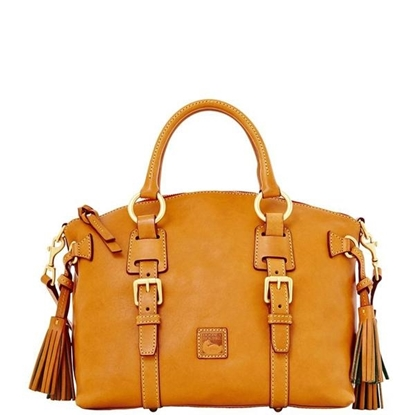 Picture of Dooney & Bourke™ Florentine Bristol Satchel - Natural