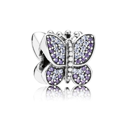 Picture of Sparkling Butterfly - Purple