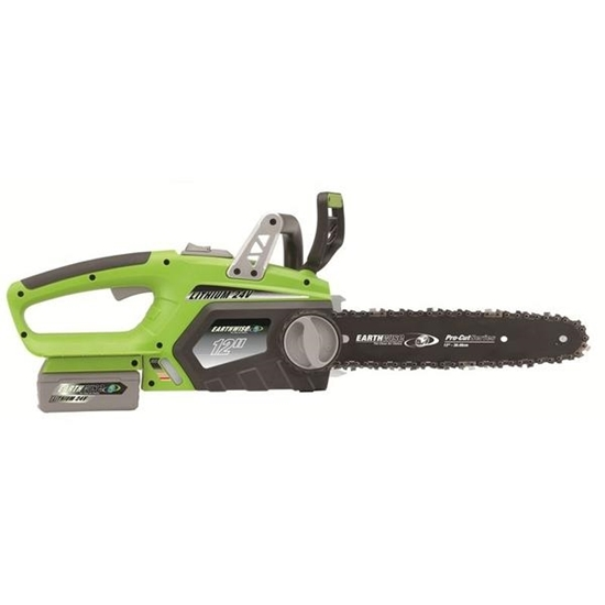 Picture of 24-Volt Lithium-Ion 12-Inch Cordless Electric Chainsaw