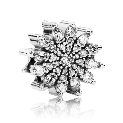 Picture of Ice Crystal, Clear CZ Charm