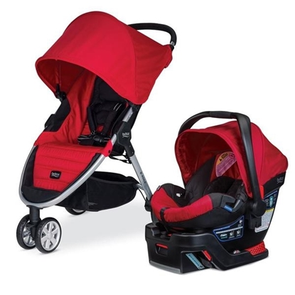 Picture of B-Agile 3/B-Safe 35 Travel System - Red