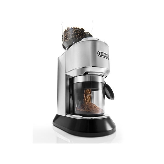 Picture of De'Longhi Dedica Stainless Steel Conical Burr Grinder with LCD Display